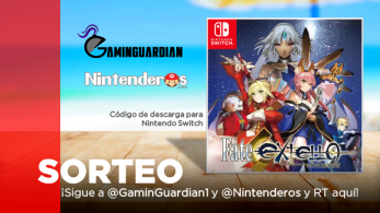 [Act.] ¡Sorteamos una copia de Fate/EXTELLA: The Umbral Star para Switch junto a GaminGuardian!