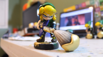 Este amiibo personalizado de 'Linkling' es la fusión perfecta entre The Legend of Zelda y Splatoon