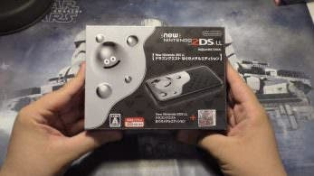 Unboxing de la New Nintendo 2DS XL Dragon Quest Liquid Metal Slime Edition