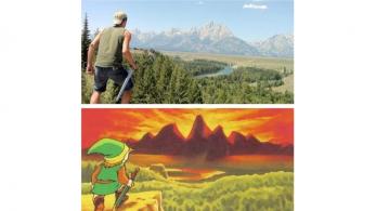 El Parque nacional de Grand Teton de Wyoming es… ¿Hyrule?