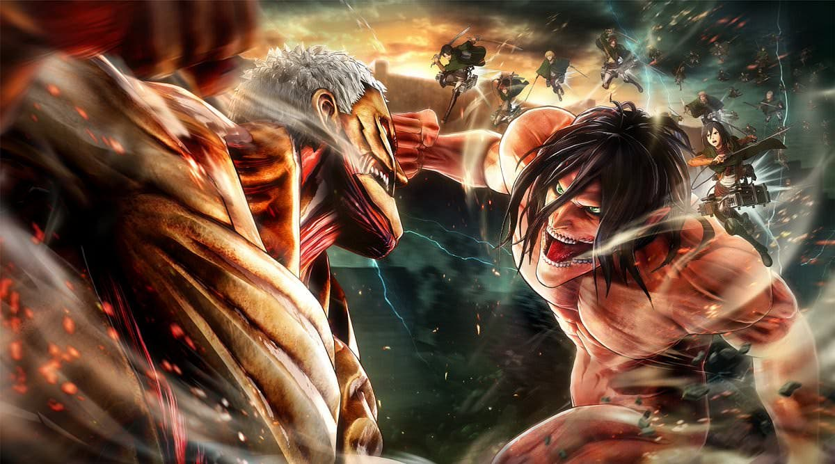 [Act.] Nuevos tráilers occidentales de Attack on Titan 2 centrados en la personalización y los combates, gameplay en Switch