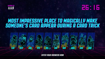 Bracketeering es el quinto y último juego que recibirá The Jackbox Party Pack 4
