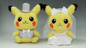 Agotados en Japón los peluches de Pikachu de boda