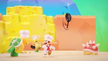 [Act.] Detalles y gameplays del Reino de los fogones de Super Mario Odyssey mostrado en la Gamescom 2017