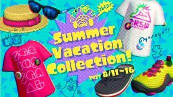 """Una """"colección de vacaciones de verano"""" llega a Splatoon 2, junto a este bonito Wallpaper"""