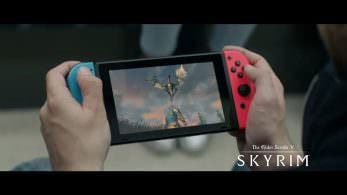 Ya disponible el sitio web oficial norteamericano de The Elder Scrolls V: Skyrim para Nintendo Switch