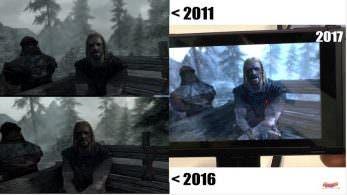 Comparativa en vídeo de The Elder Scrolls V: Skyrim: Switch vs. PC
