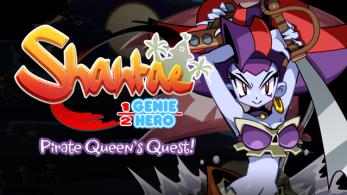 Los patrocinadores de Shantae: Half-Genie Hero están empezando a recibir códigos del DLC Pirate Queen's Quest