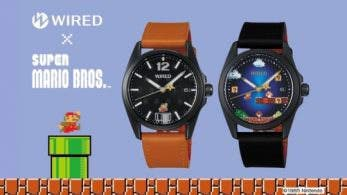 Seiko Watch anuncia los Wired × Super Mario Bros. Limited Edition para Japón