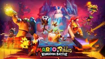 Nuevo vídeo de Mario + Rabbids Kingdom Battle centrado en los desafíos cooperativos y en el área Spooky Trails