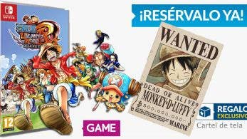 Reserva One Piece: Unlimited World Red Deluxe Edition en tiendas GAME y llévate este regalo exclusivo