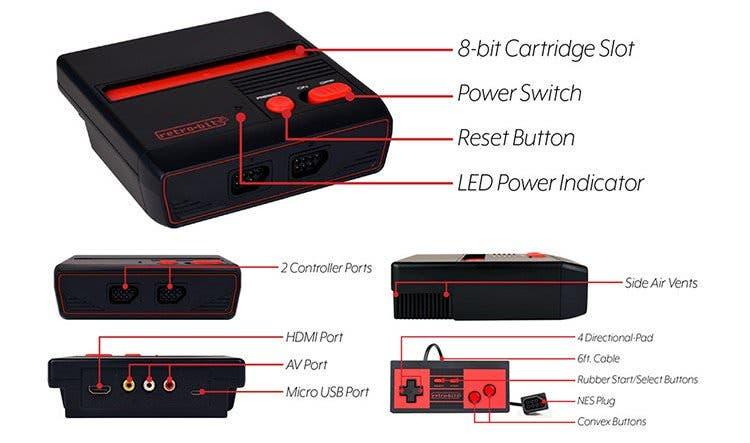 Así es RES Plus, la consola que permite jugar a juegos de NES a 720p