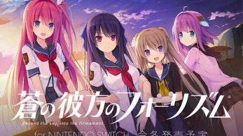 Anunciado Aokana: Four Rhythm Across the Blue para Switch, llegará a Japón este invierno