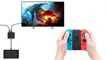 Un accesorio permite conectar la Nintendo Switch a un televisor sin el Dock