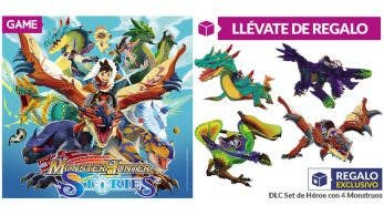 Reserva Monster Hunter Stories en GAME España y llévate el DLC Set de Héroes de regalo