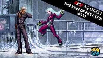 Gameplay del juego de NeoGeo The King of Fighters 2000 para Switch