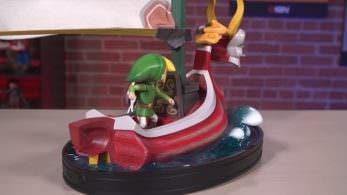 Unboxing de la figura del Mascarón Rojo de Zelda: Wind Waker de First 4 Figures