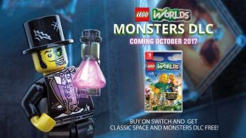 [Act.] Tráiler del DLC Monsters de LEGO Worlds y más