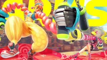 Gameplay de ARMS, con Lola Pop como protagonista