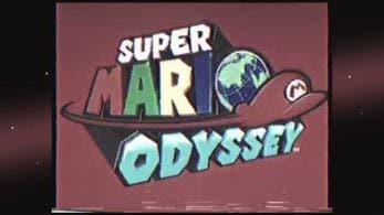 Echa un vistazo a esta imitación de anuncio americano de los años 80 de Super Mario Odyssey