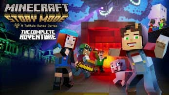 [Act.] Minecraft: Story Mode – The Complete Adventure llegará este mes a Nintendo Switch