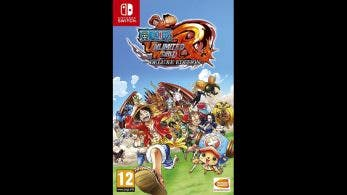 Así luce el boxart europeo de One Piece: Unlimited World Red Deluxe Edition para Nintendo Switch