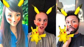 Pikachu llega a Snapchat