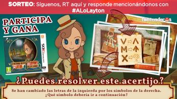 [Act.] ¡Sorteamos 5 copias de El misterioso viaje de Layton para Nintendo 3DS!