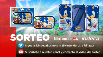 [Act.] ¡Sorteamos 8 fundas de Sonic junto a Indeca Business!