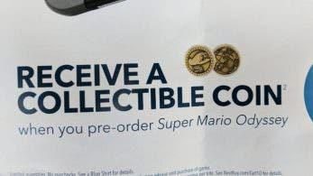 Best Buy regala esta genial moneda de coleccionista con la reserva de Super Mario Odyssey