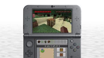 Minecraft: New 3DS Edition se actualiza añadiendo multijugador local
