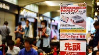 El ansia por Super Famicom Mini genera colas de más de 800 personas en Japón