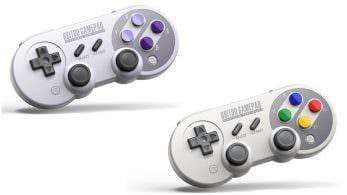 8Bitdo anuncia los mandos SN30 y SF30, compatibles con Nintendo Switch