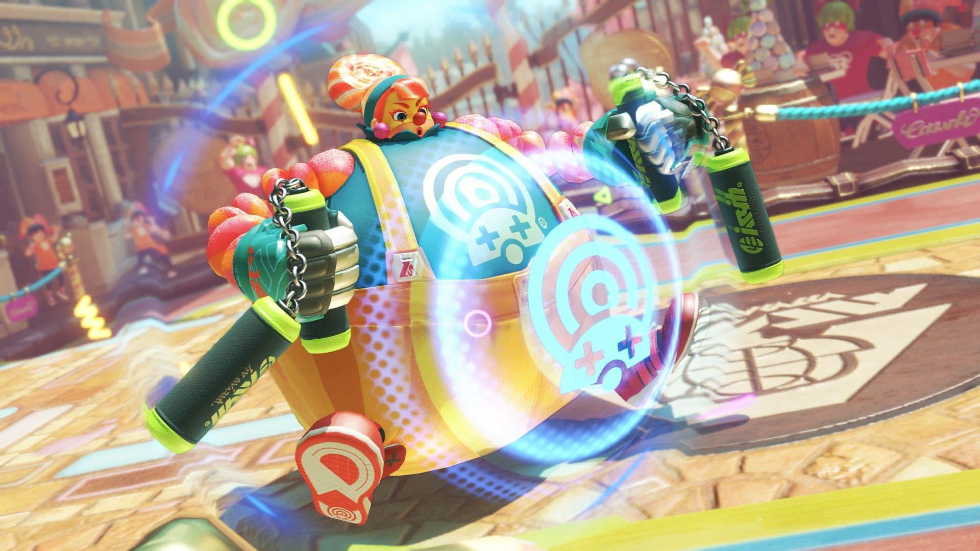 Nintendo comparte más detalles sobre Lola Pop y sus puños en ARMS