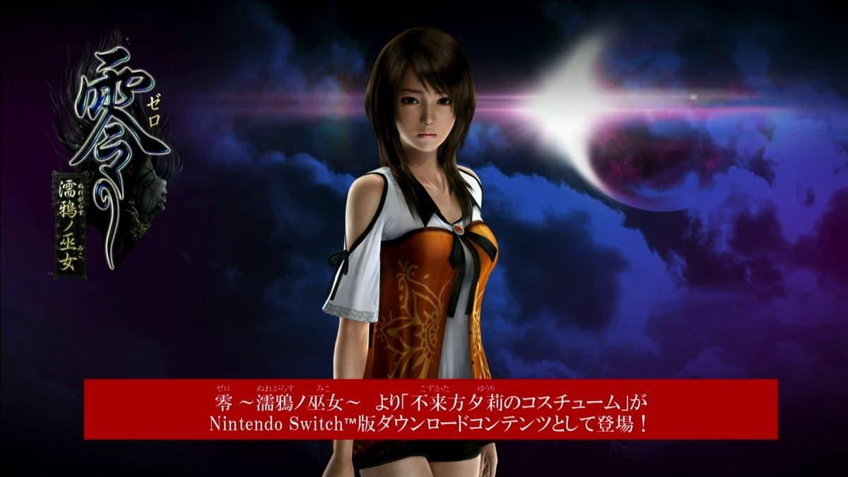 Nights of Azure 2: Detalles sobre el combate, traje DLC de Fatal Frame confirmado para Occidente y nuevo tráiler