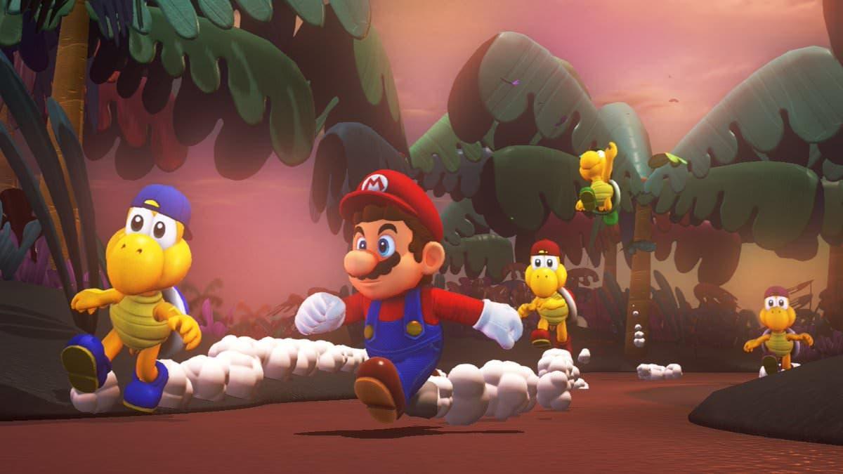 El récord en completar Super Mario Odyssey a nivel mundial es de 1 hora 5 minutos y 14 segundos