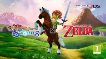 [Act.] El DLC gratuito de The Legend of Zelda para Monster Hunter Stories llegará a Occidente este jueves