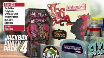 [Act.] The Jackbox Party Pack 4 llegará a Nintendo Switch el 19 de octubre