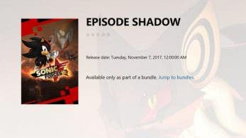 Filtrado el DLC «Episode Shadow» de Sonic Forces