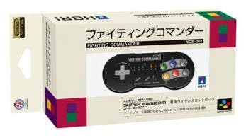 HORI anuncia un nuevo mando para SNES Mini, el Fighting Commander