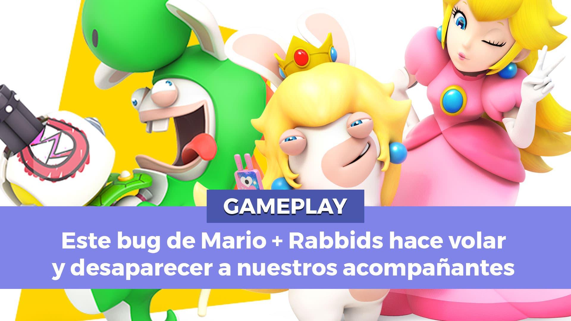 Un bug en Mario + Rabbids Kingdom Battle hace perder a nuestros acompañantes