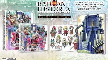 Se anuncia Radiant Historia: Perfect Chronology Launch Edition y llegará a principios de 2018