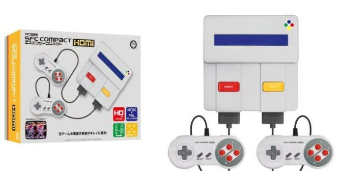 Columbus Circle lanza SFC Compact HDMI, un clon de Super Famicom en HD