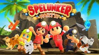 [Act.] Tráiler de lanzamiento de Spelunker Party!