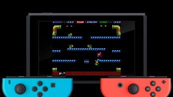 Nuevo gameplay de Arcade Archives Mario Bros