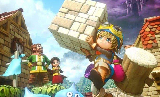 Dragon Quest Builders vendió cerca del 55% de su stock inicial en Japón