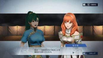 Así conversan Lyn y Celica en Fire Emblem Warriors