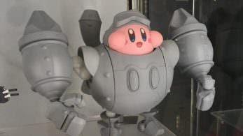Así luce el prototipo de la figura de Kirby en Planet Robobot de Good Smile