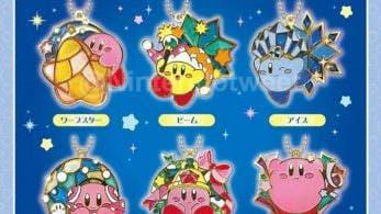 Esta nueva colección de colgantes de Kirby llegará a Japón en noviembre