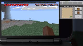 12 minutos de gameplay de Minecraft: New 3DS Edition